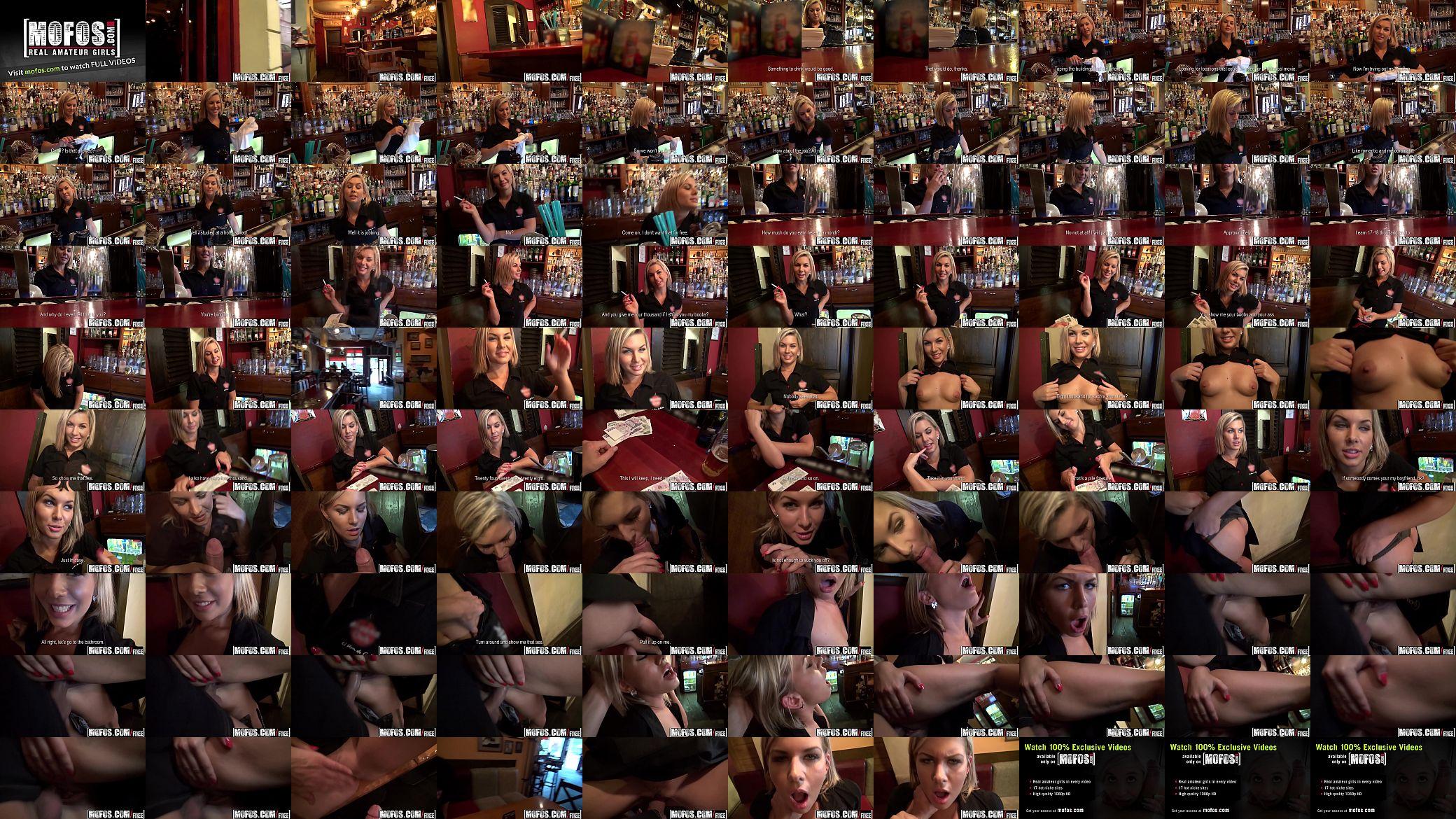 Bar Pickup Mofos Porn public pick ups - barmaid got laid starring rihanna samuel