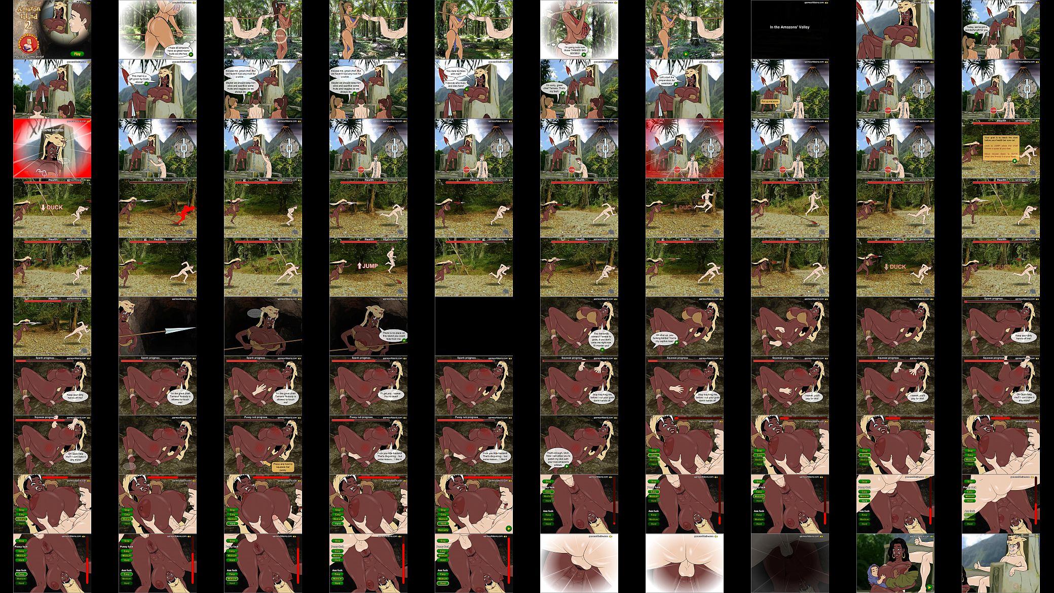Amizone Porn Animated amazon island 2 - xnxx