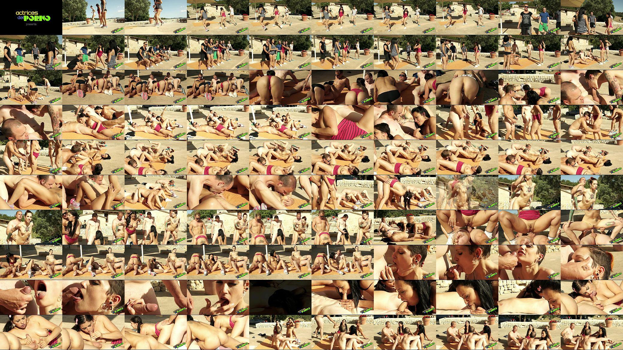 Actrices Porno Mas Cerdas casting entrenamiento, iniciando muchachas en el porno