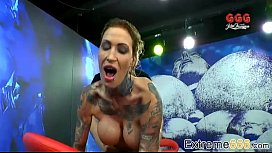Calisi Ink In Piss Swallowing Mania