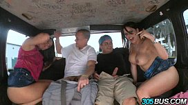 Rachel Starr and Diamond Kitty Ride the Bus 3.3