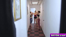 Ashley Anderson and her ballerina bffs fucked
