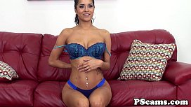 Abby Lee Brazil cumswallows on webcam show
