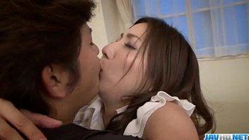 Mirei Yokoyama blows it hard before gettin nailed 12 min