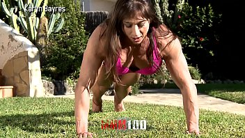 Trailer : Muscular woman holding her toyboy