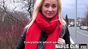 Public Pick Ups - Euro Blonde Has Cute Small Tits starring  Cayla Lyons
