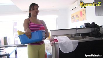 MAMACITAZ - Real Hot Latina Maid Camila Marin Fucks With Dirty Lucky Client
