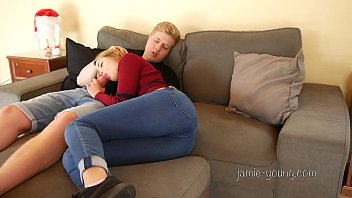 Hot German Amateur fucked with Clothes on