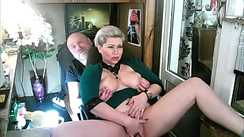 Family fun on the Moscow balcony)) I love to spread the legs of my MILF bitch and expose her wet mature cunt for everyone to see! ))