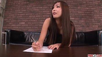Satsuki Aoyama sucks cock hard then swallows big time - More at Pissjp.com 12 min