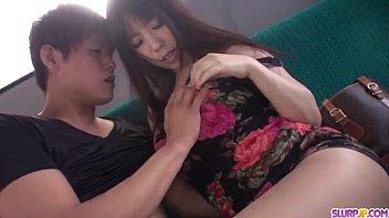 Amazing car sex scenes with insolent Chinatsu Kurusu 12 min