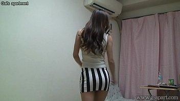 Peeping Naked Japanese Girl Madoka at Her Room 2 min