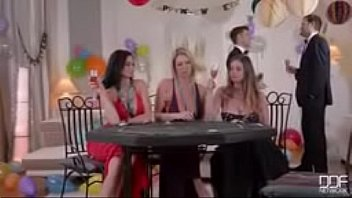 Video porn son dad tricks to fuck mom with her friend on her bday party fastest