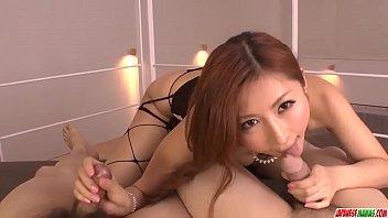 Reira Aisaki provides excellent blowjob in hot POV  - More at Japanesemamas.com 12 min