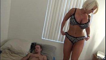Hot Mom help Son - Alura Jenson