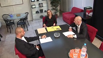 Video porn 2020 Carrer woman in high heels banged by colleagues in a business meeting online fastest