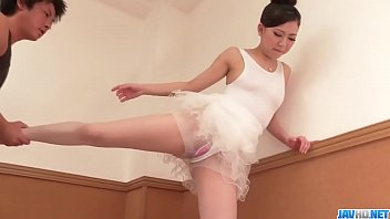 Miu Kimura stands for cock in superb ballerina porn show  - More at 69avs com
