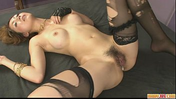 Yuki getting her pussy fondled with various sex toys 8 min