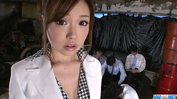 Aiko Hirose gets fucked by all her office colleagues 12 min
