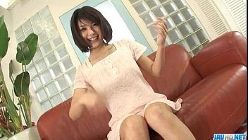 HousewifeAzumi Harusaki enjoys toys up her cunt 12 min