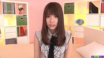 Insane home scenes of raw porn with Japanese Hinata Tachibana - More at 69avs com