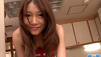 Serious pussy play along lingerie model Aoi Yuuki 12 min