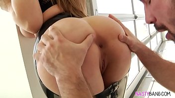Sexy big thick pussy girl gets fucked in the anal