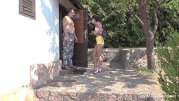 Old-n-Young.com - Lady Dee - Sun, garden, hard sex and orgasm