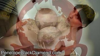 Penelope Black Diamond Blowjob Milk Preview