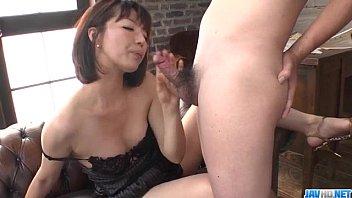 Superb solo by lingerie model Izumi Manaka 12 min
