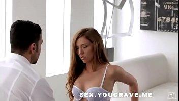 Brunette Babe In White Panties Fucking
