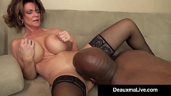 Busty Milf Deauxma Is the Boss & needs to let some employees go! Her Big Black Cock Co-Worker offers an Inappropriate Trade! Sex To Keep His Job! Full Video & Live @ DeauxmaLive.com!