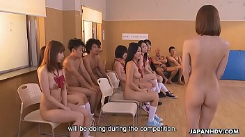 Japanese schoolgirls are orgying with their very horny teachers, uncensored 64 sec