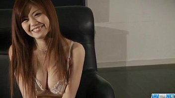 Nao shows off her nasty side while posing in sexy lingerie 12 min