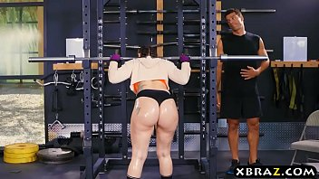 Video porn hot Big ass gym babe Mandy Muse anal fucked after squats of free