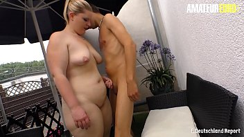 AMATEUR EURO - Anna K. Takes Cock In Doggystyle Outdoor And She Loves It