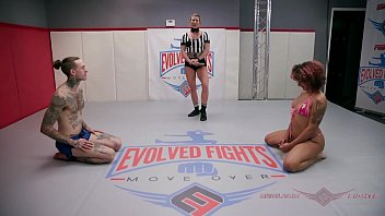 Ruckus takes on Daisy Ducati in a no holes barred, Prison Rules naked wrestling match