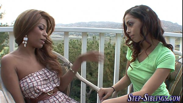 Sisters Tease Step Brother