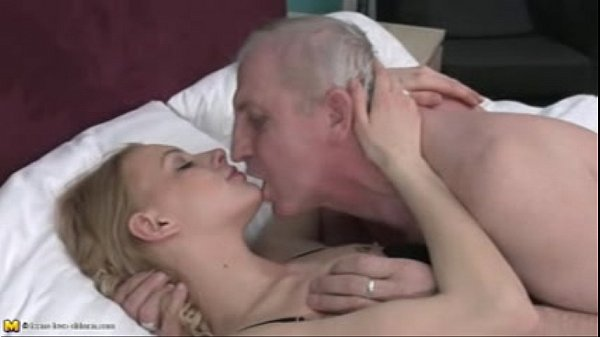 old man fuck blonde girl