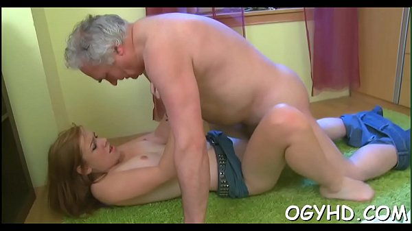 Old Couple Seduce Young