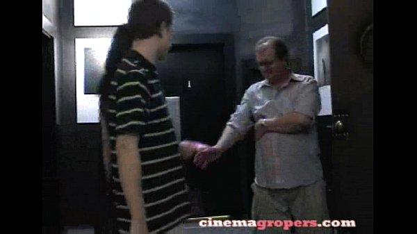 Groping cinema Groped