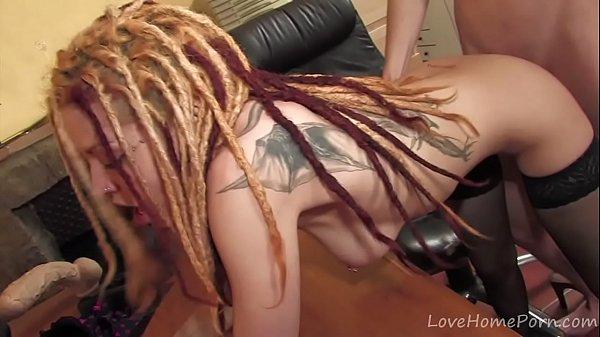 Blonde dreadlocks big tits cam girl blowjob Cute Babe With Dreadlocks Sucks Fucks Xnxx Com