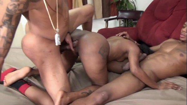 Ebony Bbc Anal Threesome