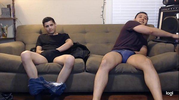 Straight Males Masturbating