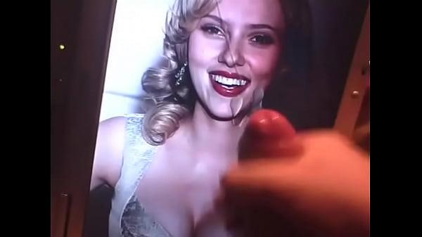 Johansson cum scarlett Cum on
