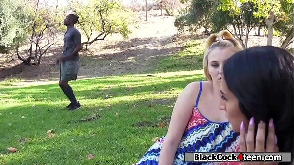Latina Teen Sucking Black Dick