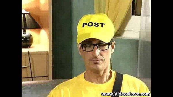 Pelicula porno the lucky postman Postman Got A Chance To Fuck Xnxx Com