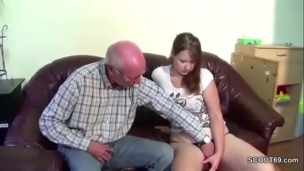 Deutsch enkelin opa fickt Opa Fickt