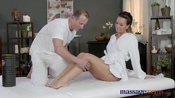 Horny Teen Gets Massage