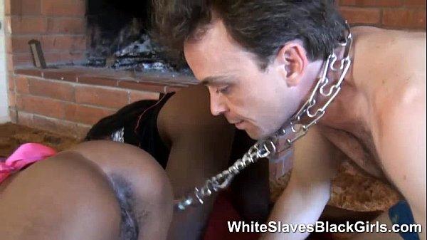 Black Man Eats White Girl